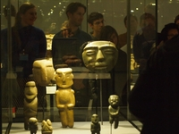 Objects and stories in the Mesoamerican room